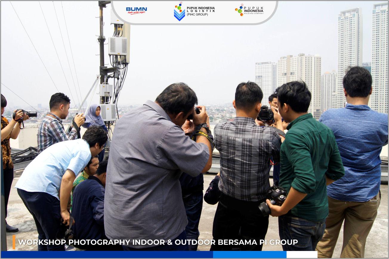WORKSHOP PHOTOGRAPHY INDOOR & OUTDOOR BERSAMA PI GROUP